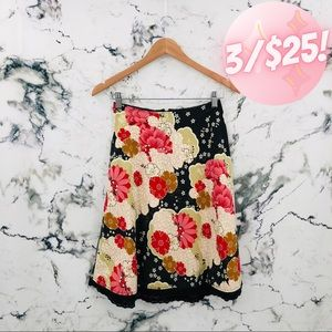💖3/$25💖 Charlotte Russe Floral Circle Skirt
